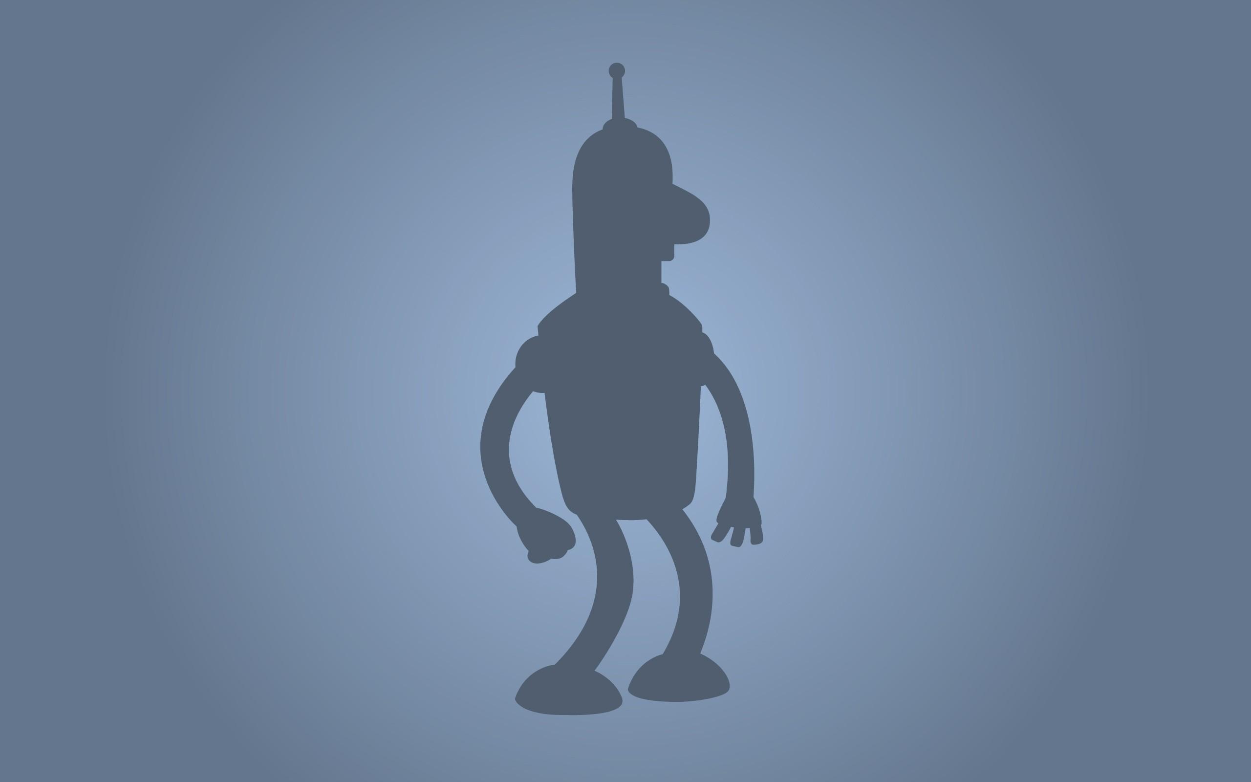 Bender, Minimalism, Futurama Wallpapers HD / Desktop and Mobile Backgrounds