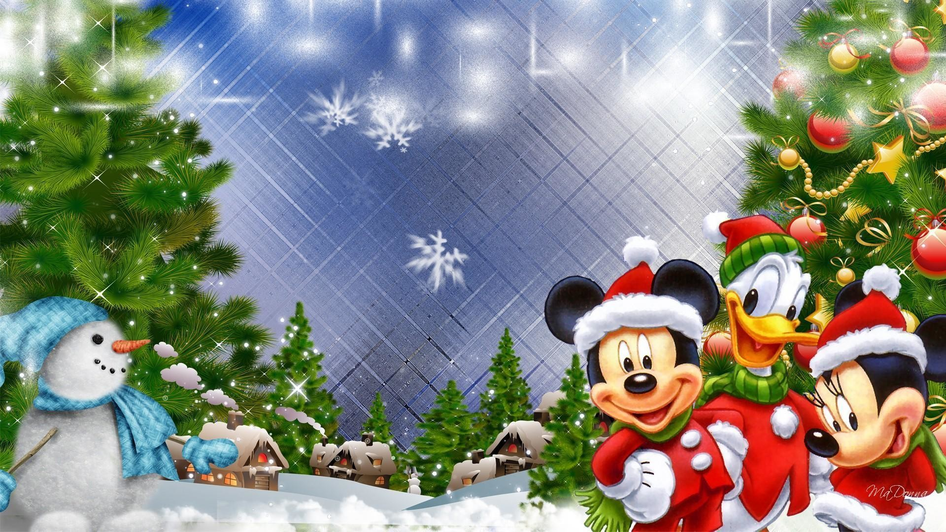Xmas Stuff For > Merry Christmas Mickey Mouse Wallpaper
