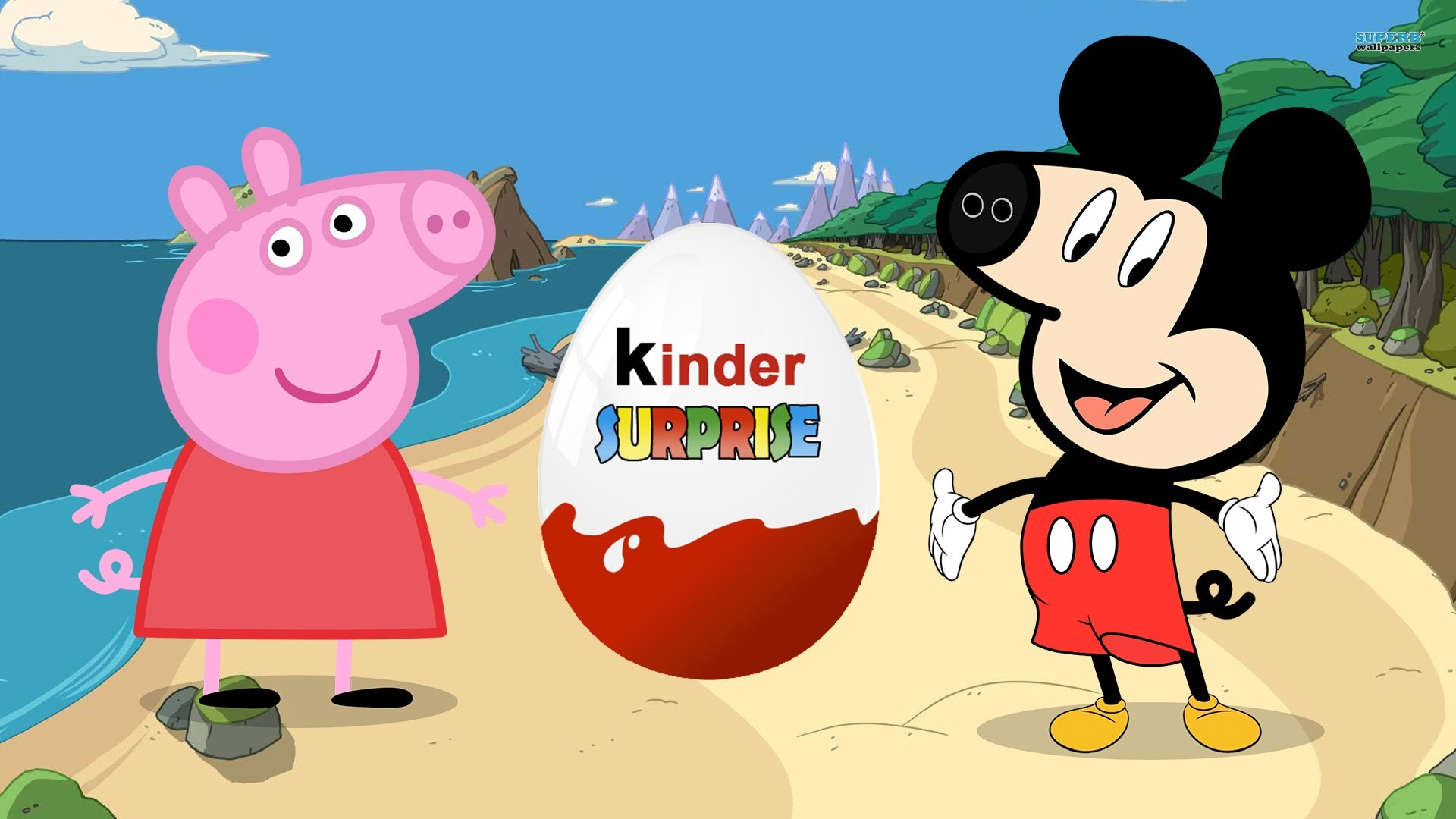 """Peppa Pig en español"" Mickey mouse clubhouse Change Peppa Pig Animation."