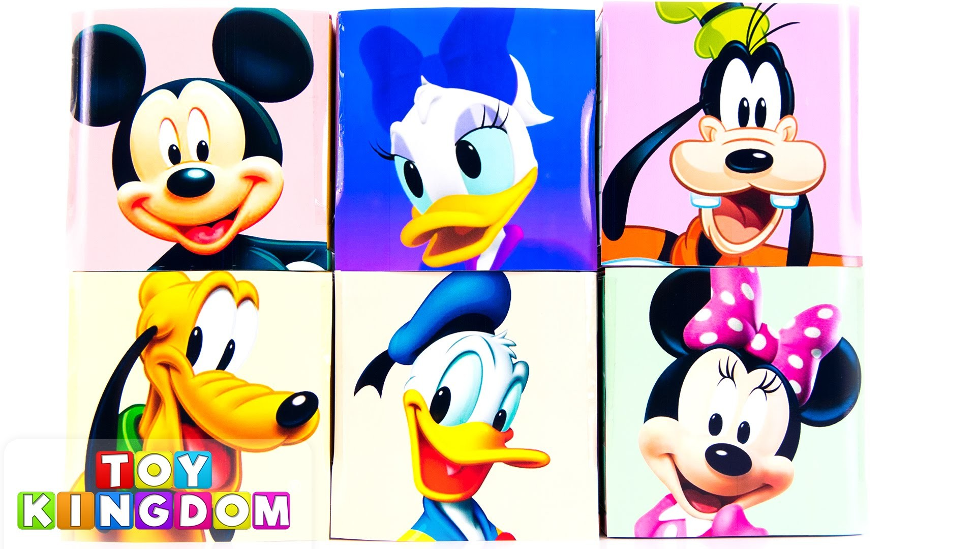 Mickey Mouse Clubhouse Disney Cubeez Toy Surprises Cubes Minnie Goofy  Donald Daisy Pluto DIY – YouTube