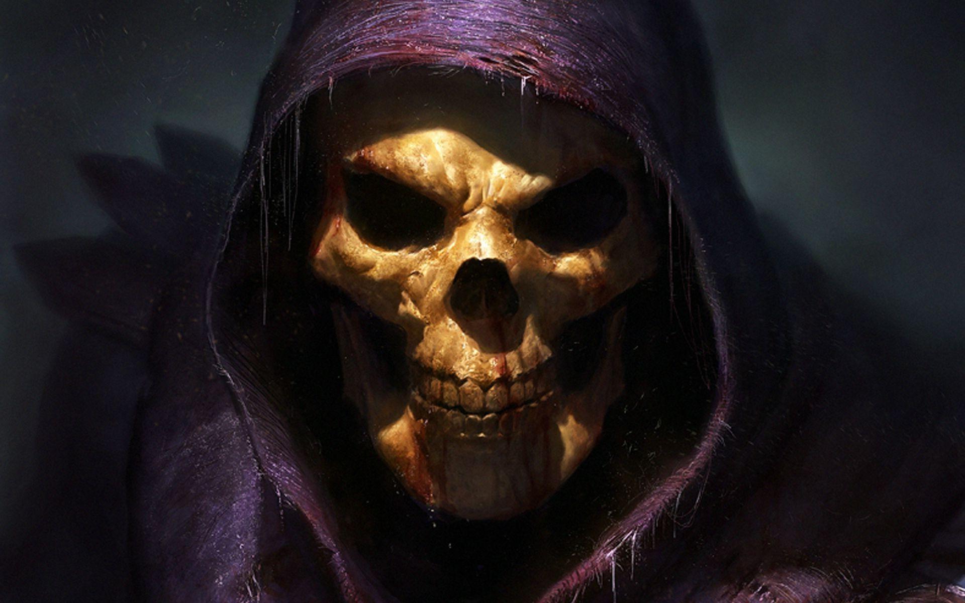 Skeletor, Fantasy Art, Skull, Grim Reaper, He Man, Spooky Wallpapers HD /  Desktop and Mobile Backgrounds