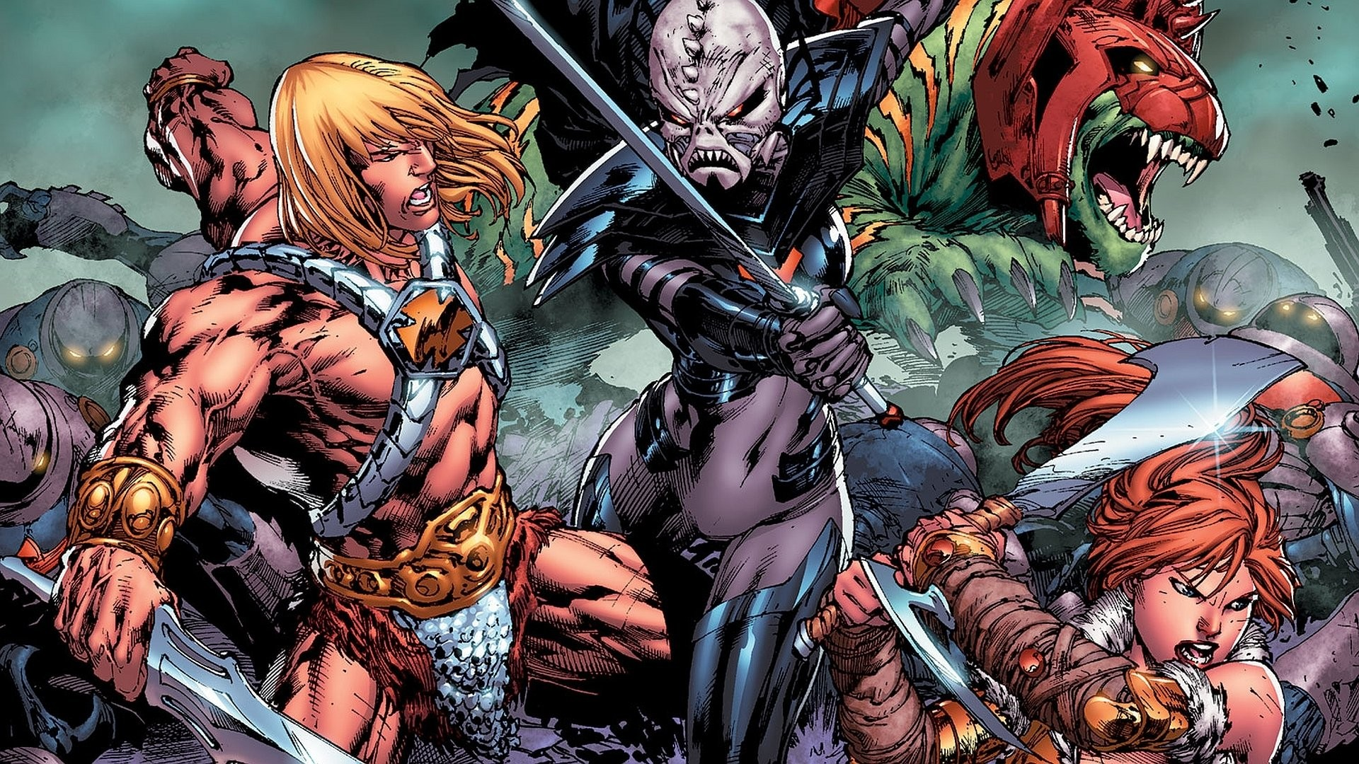 Serier – He-Man And The Masters Of The Universe Bakgrund