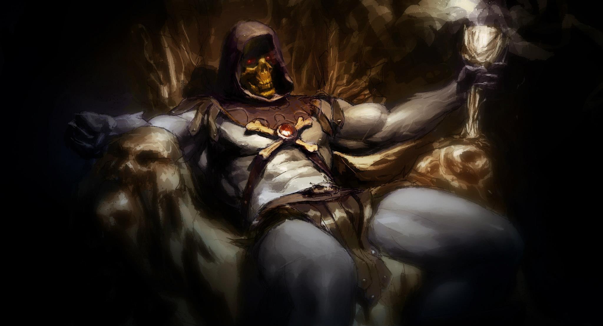 … Skeletor …