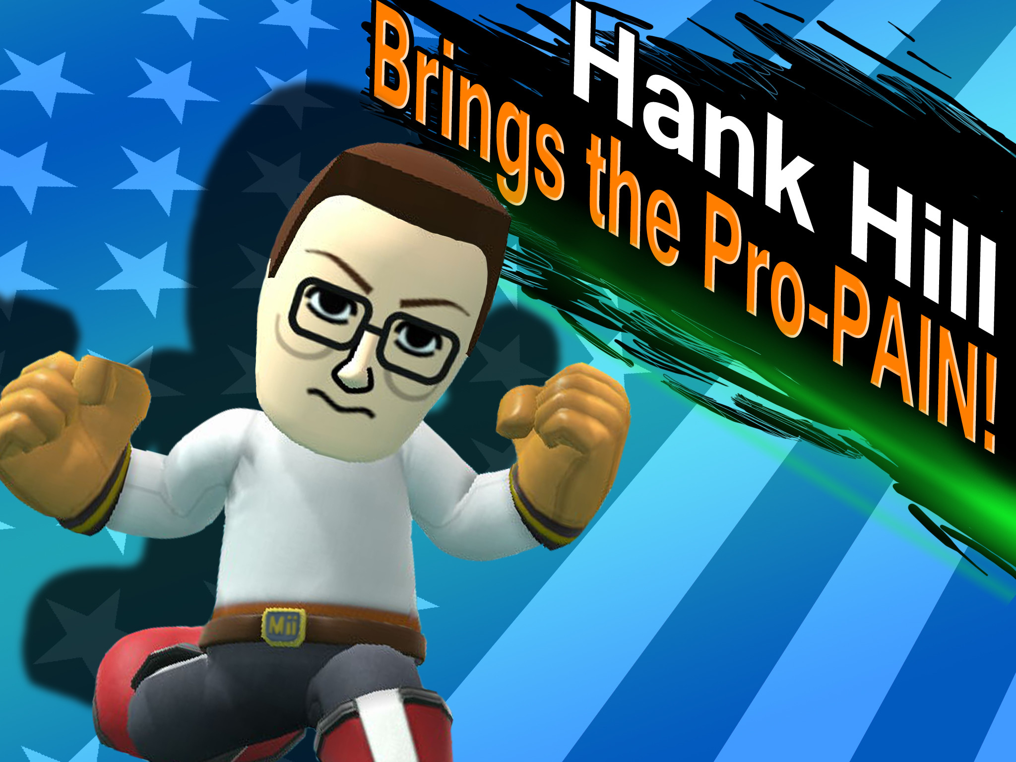 Hank Hill brings the Pro-PAIN! by NickGuillory on DeviantArt