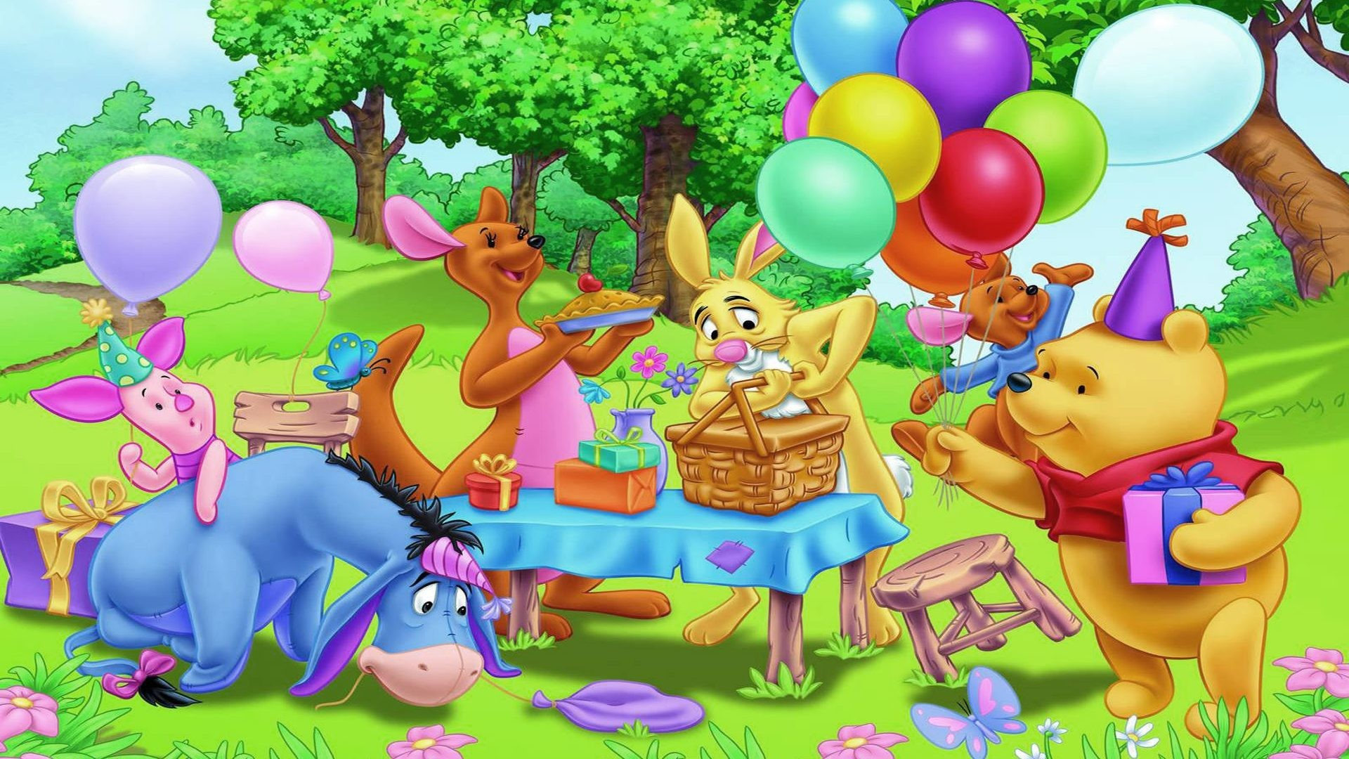 And Friends Gifts Balloons Hd Wallpaper 1920×1200 : Wallpapers13.com …