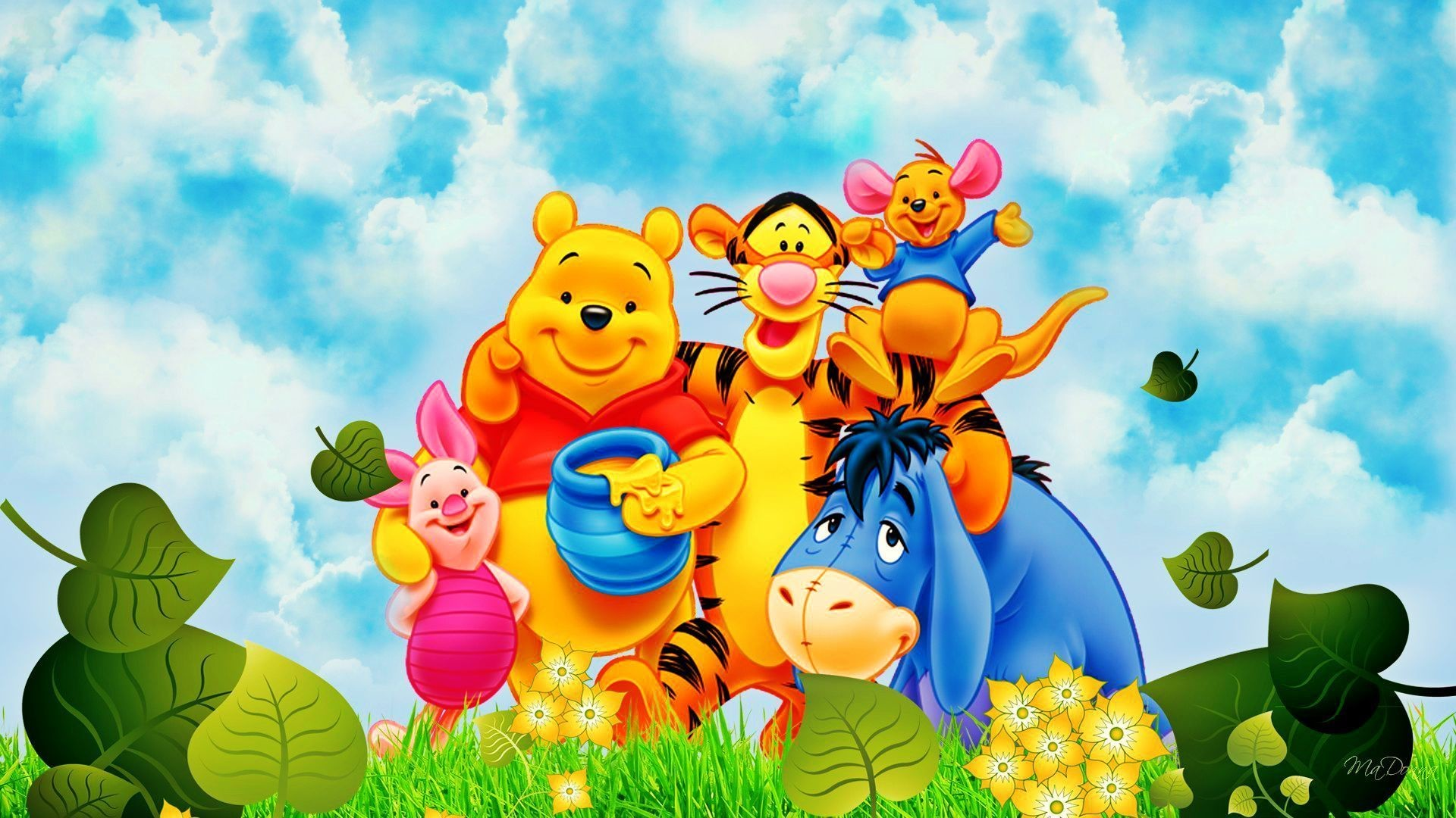 Disney Winnie The Pooh Wallpapers Group (68+)