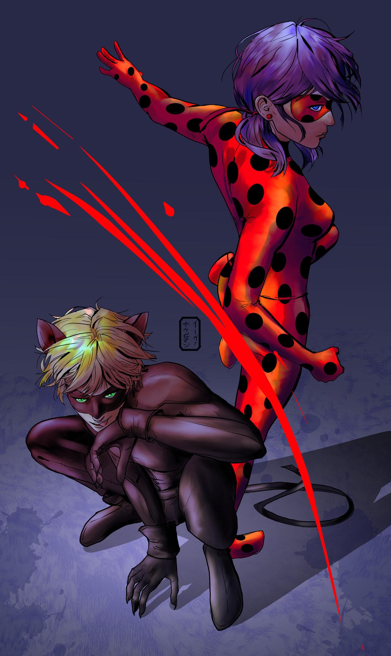 Miraculous Ladybug by invisibleninja12 Miraculous Ladybug by  invisibleninja12