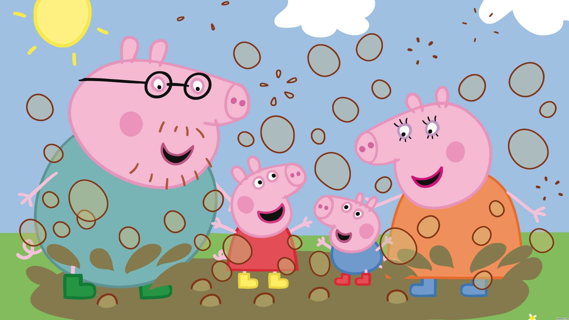 Peppa Pig Backgrounds Group (46+)