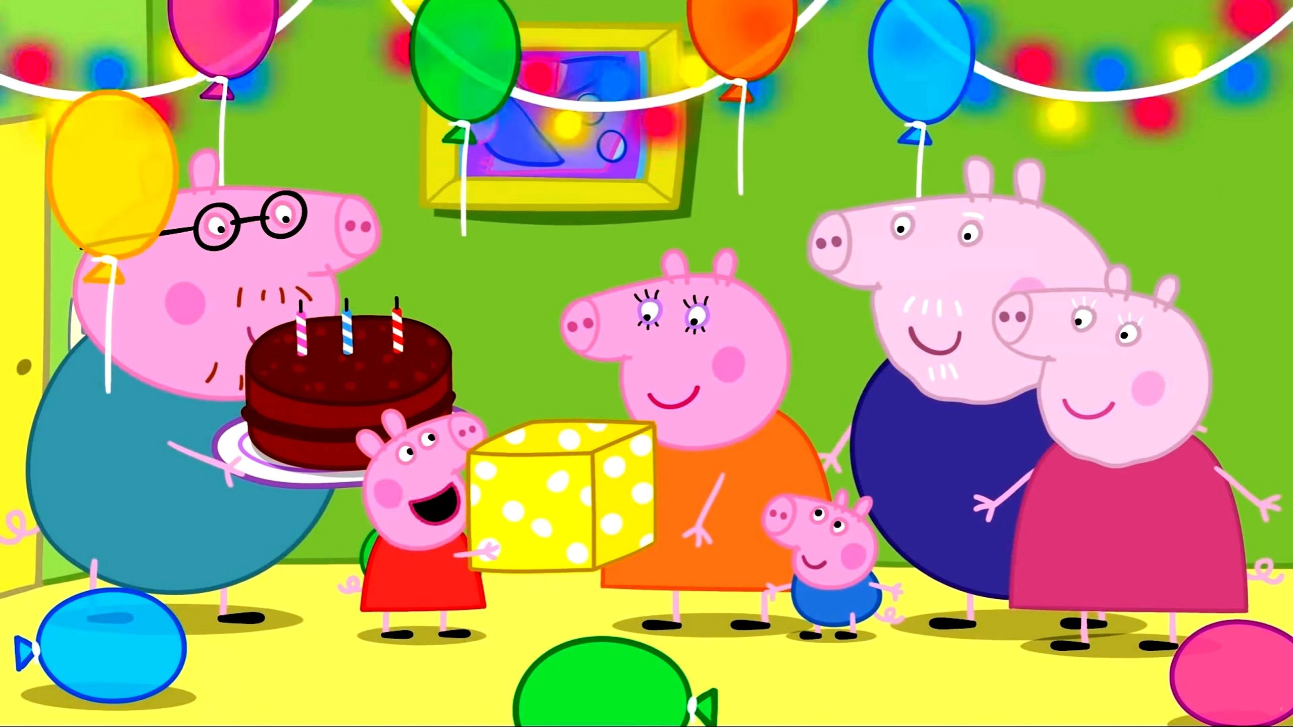 Peppa Pig Coloring Pages for Kids Peppa Pig Coloring Games Peppa Pig daddy  pig mummy Birthday day – YouTube