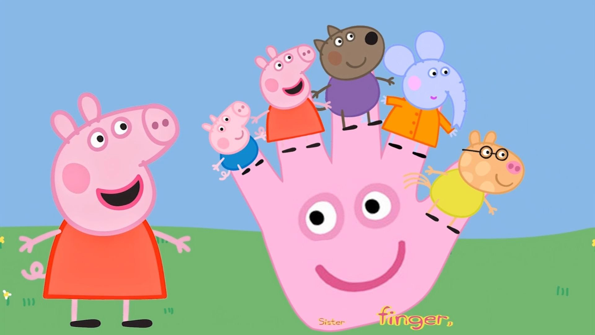 Peppa Pig and Friends /Finger Family /Daddy Finger / Família dos Dedos –  YouTube