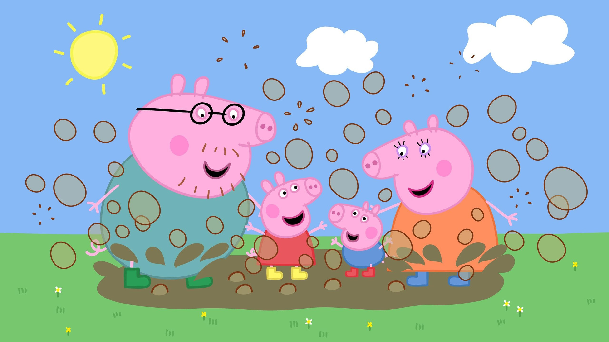 Peppa Pig Coloring Pages For Kids Peppa Pig Coloring Book -Peppa Pig Family  Muddy Puddles MyfunToys – YouTube