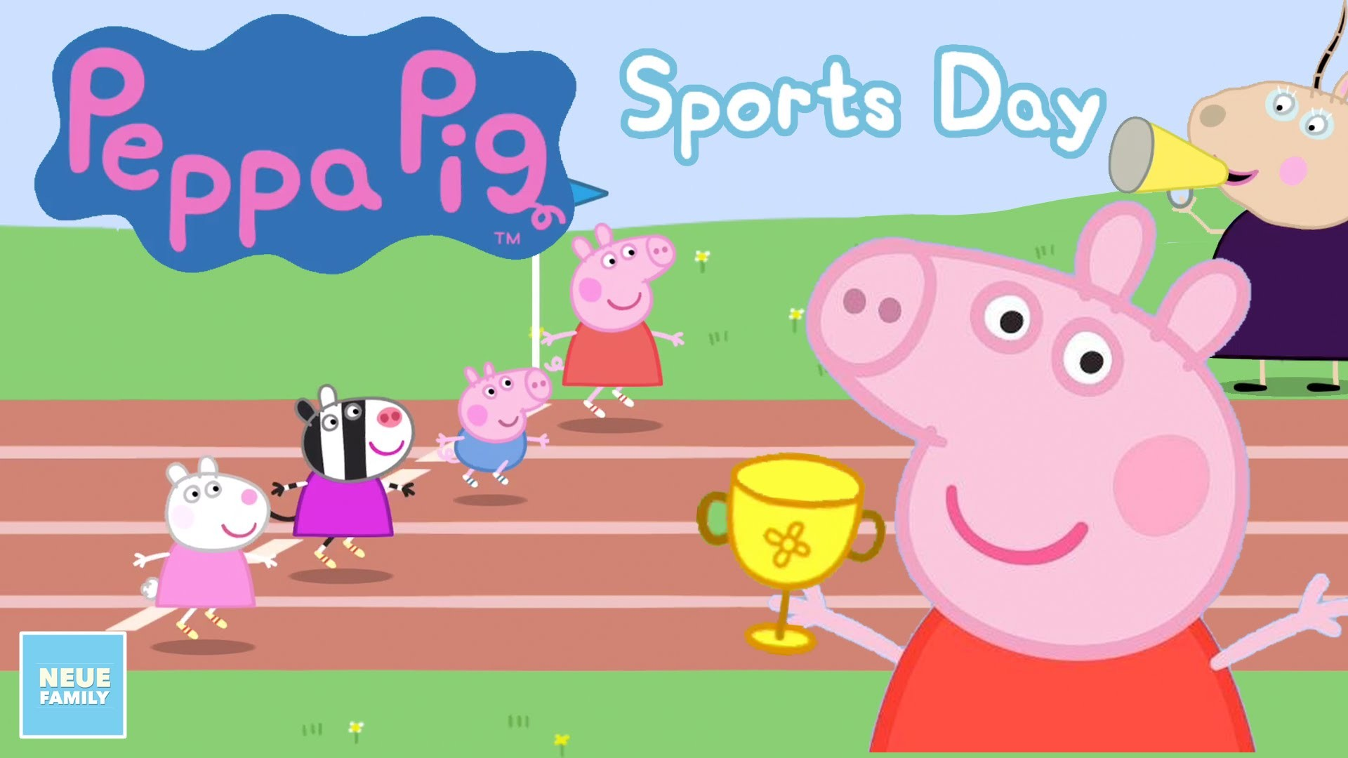 Peppa Pig Sports Day: Activity App for Kids