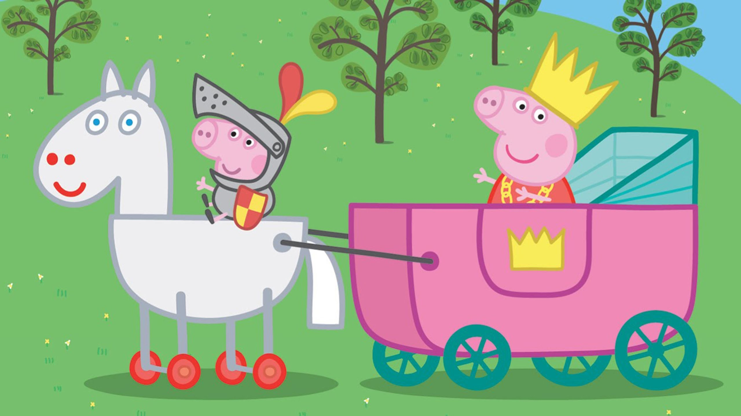 Peppa Pig Coloring Pages For Kids Peppa Pig Coloring Book -Princess Peppa  Pig Royal Carriage – YouTube