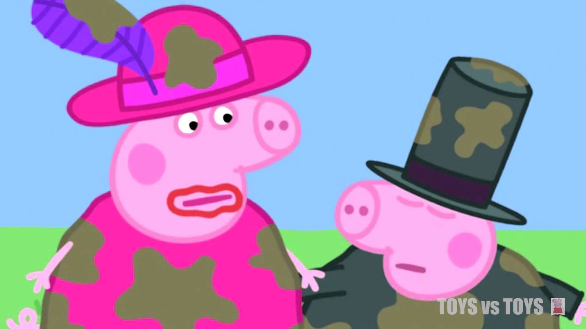 Peppa Pig Dressing Up The School Fete Series 1 Episode 19 20