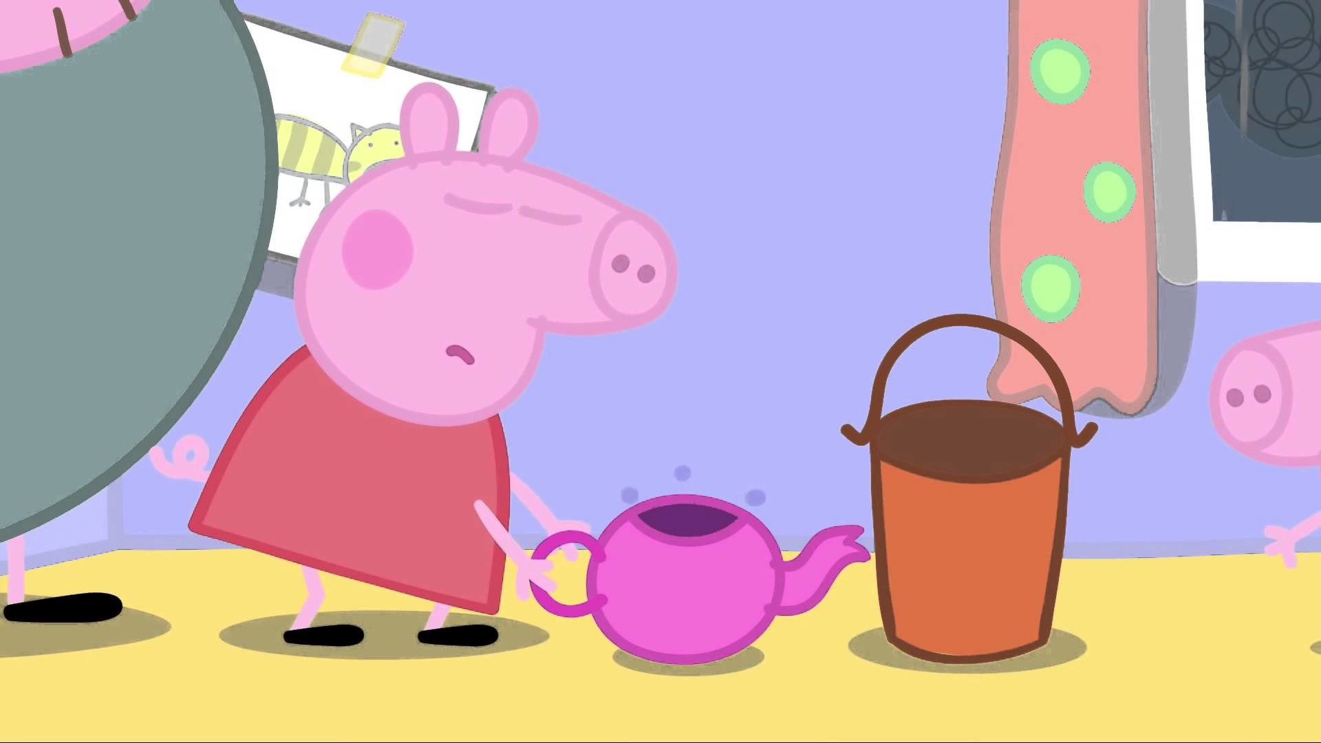 Peppa Pig cartoon NEW HD | Peppa Pig 2015 – Thunderstorm
