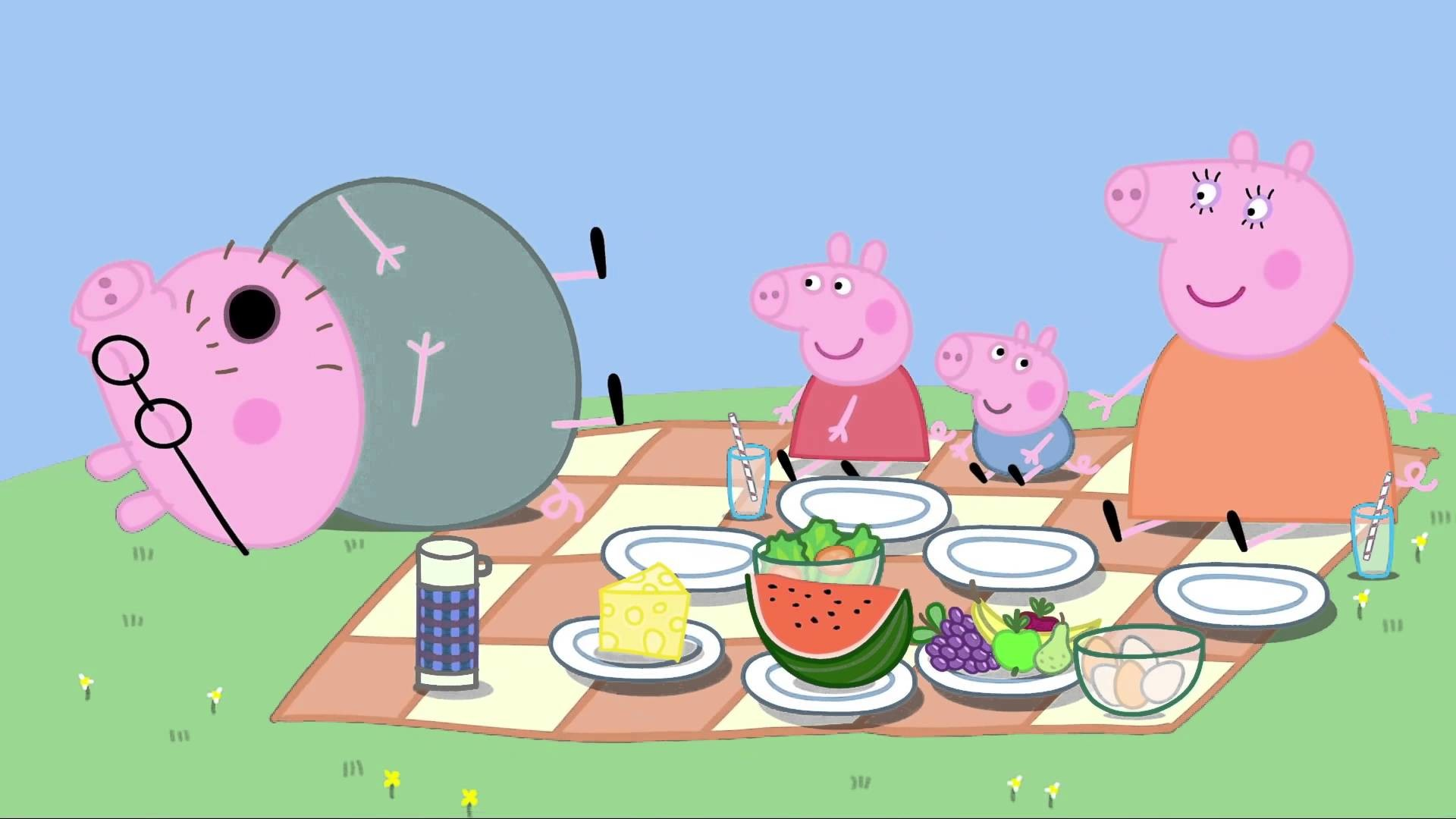 Peppa Pig: Picnic. Cartoons for Kids/Children