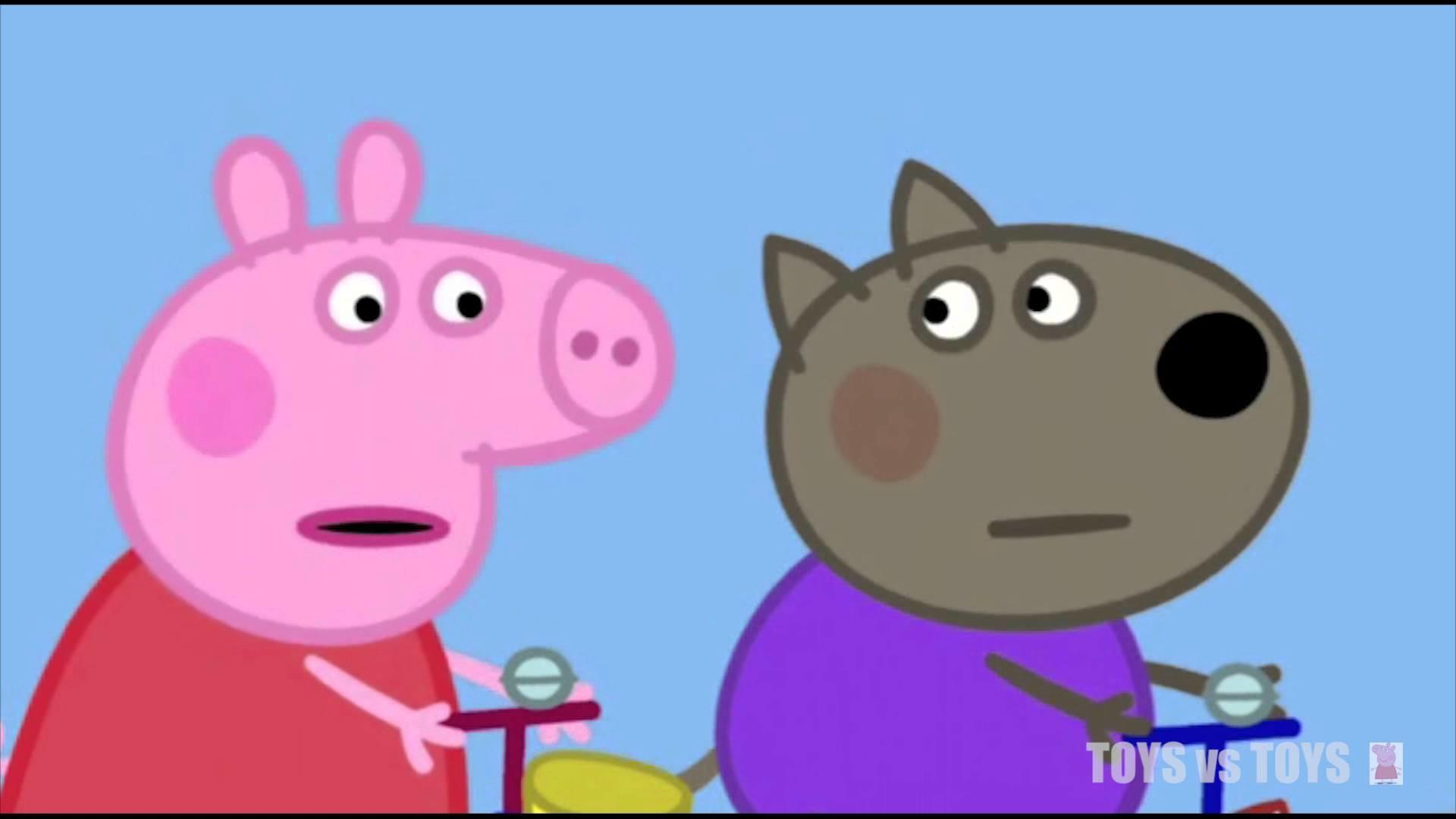 Peppa Pig Gardening Bicycles Season 1 Episode 9 10