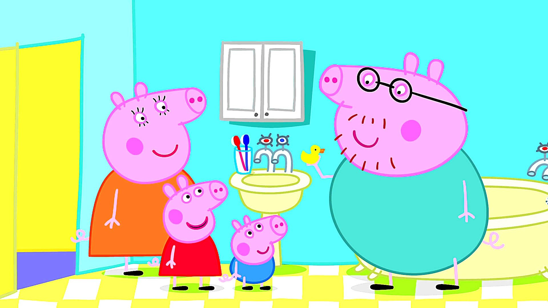 Learn Colors with Peppa Pig Coloring Pages For Kids – Peppa Coloring Book –  Video For Children