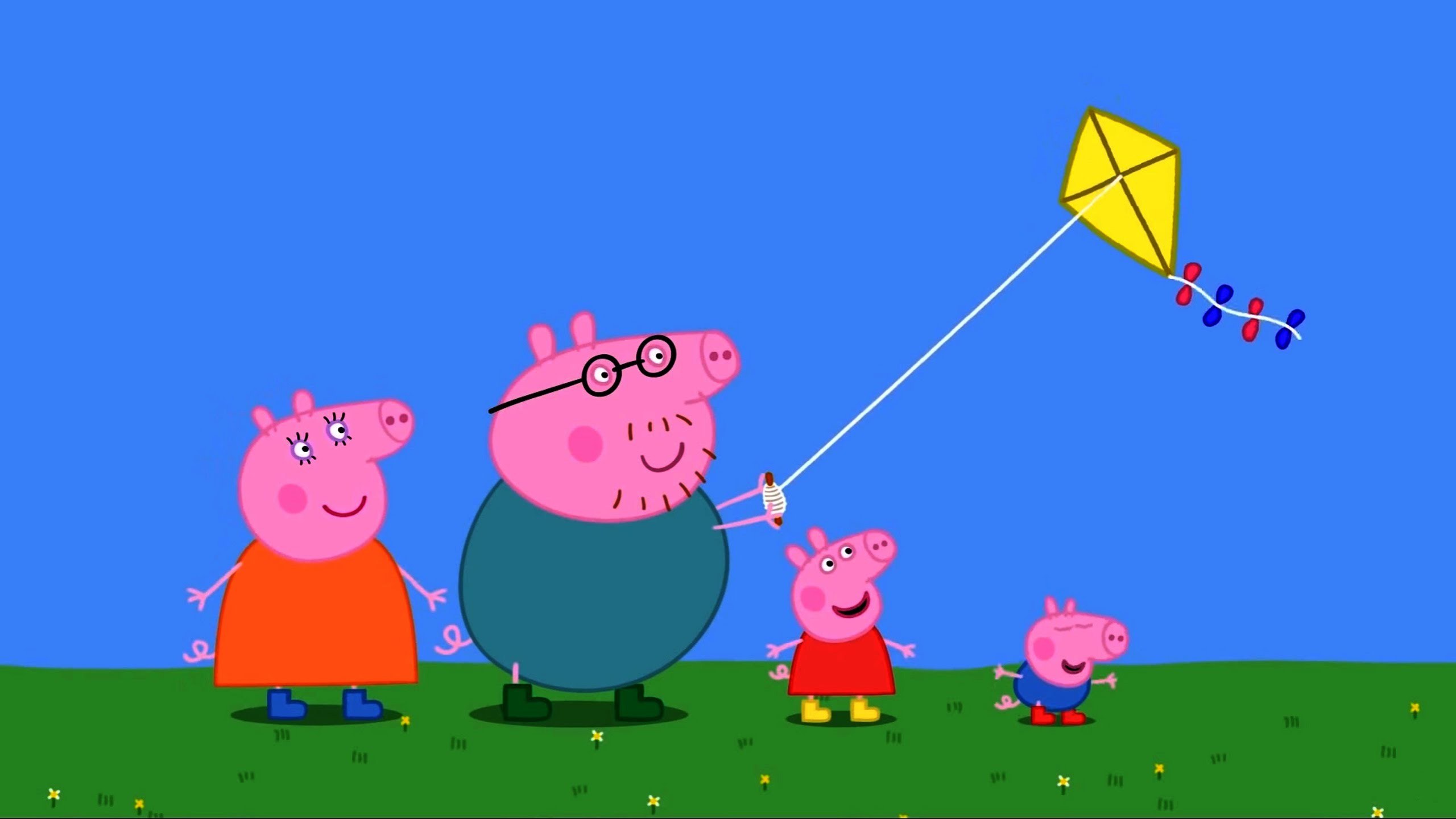 Peppa Pig Coloring Pages for Kids – Peppa Pig Coloring Games – Peppa kite  Coloring Book