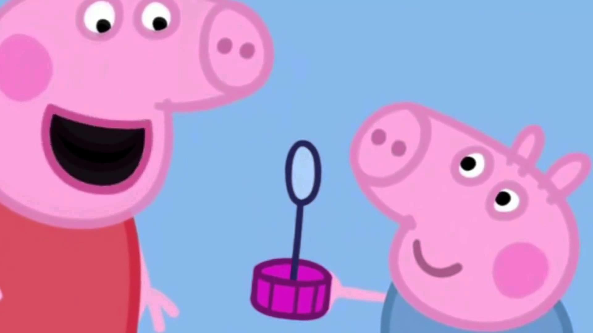 Peppa Pig English Episodes. Bubbles