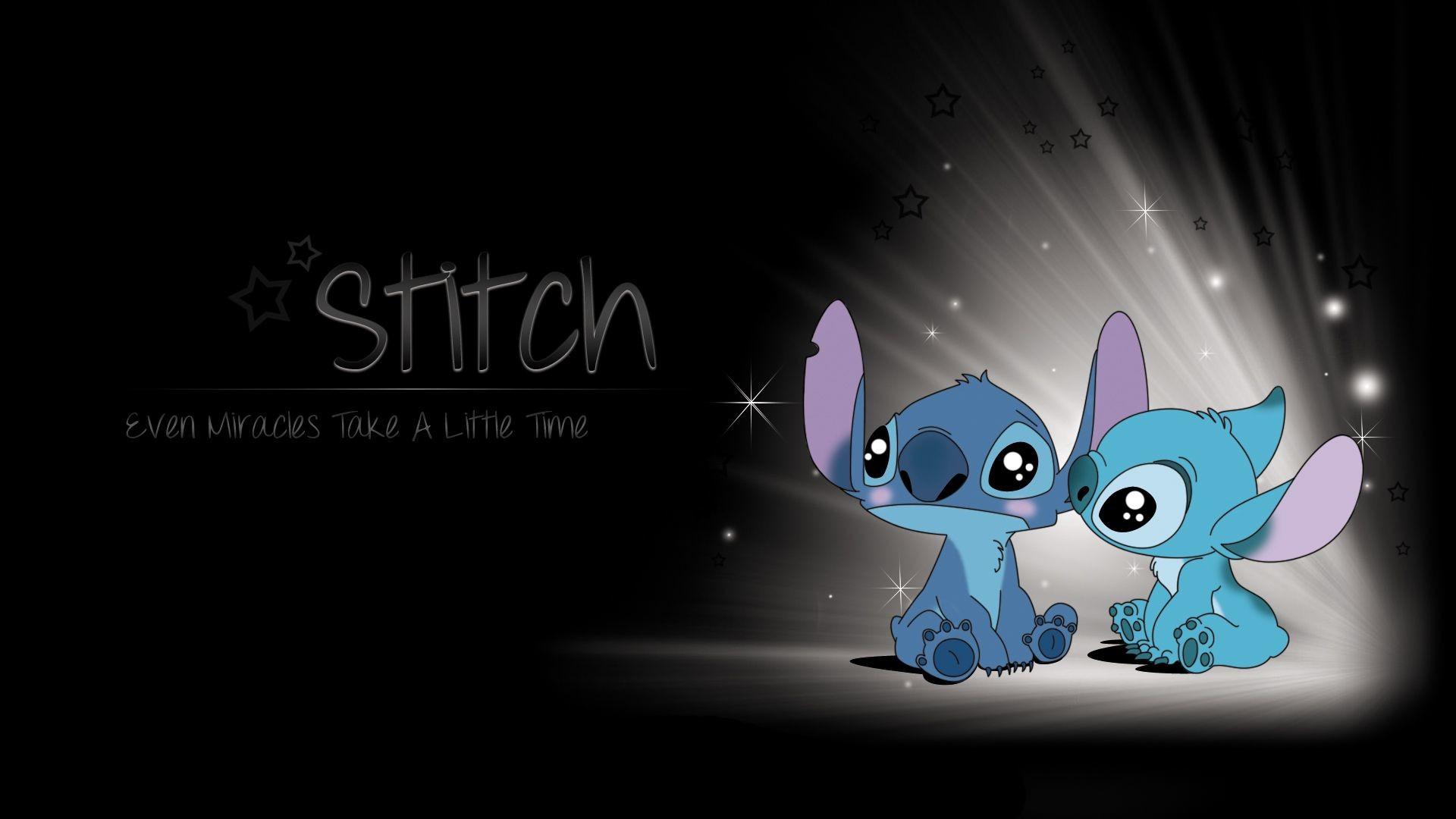 Cute stitch wallpaper HD Desktop download stitch backgrounds