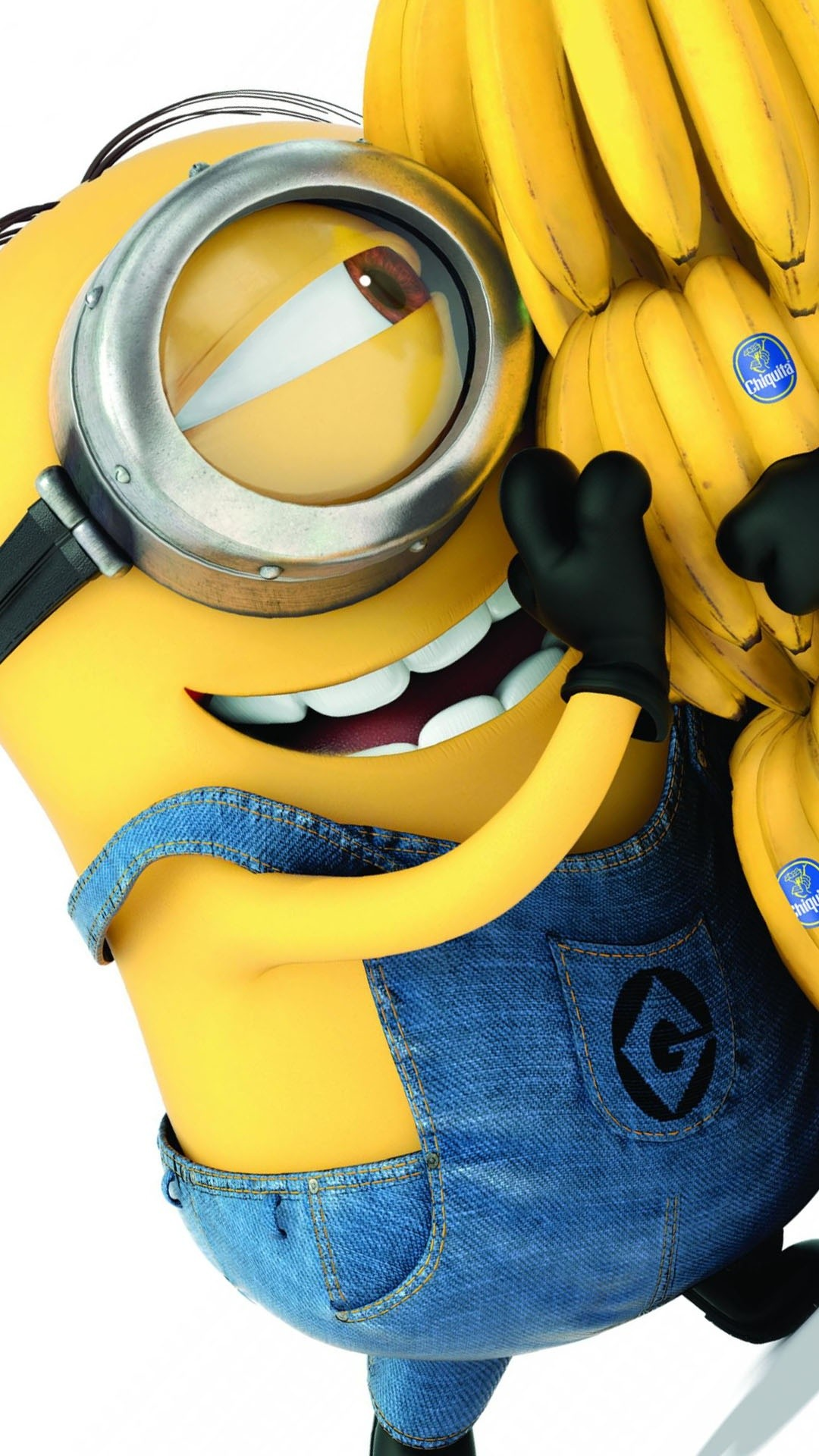 Click here to download Minions 2015 Banana Android Wallpaper Resolution  pixel
