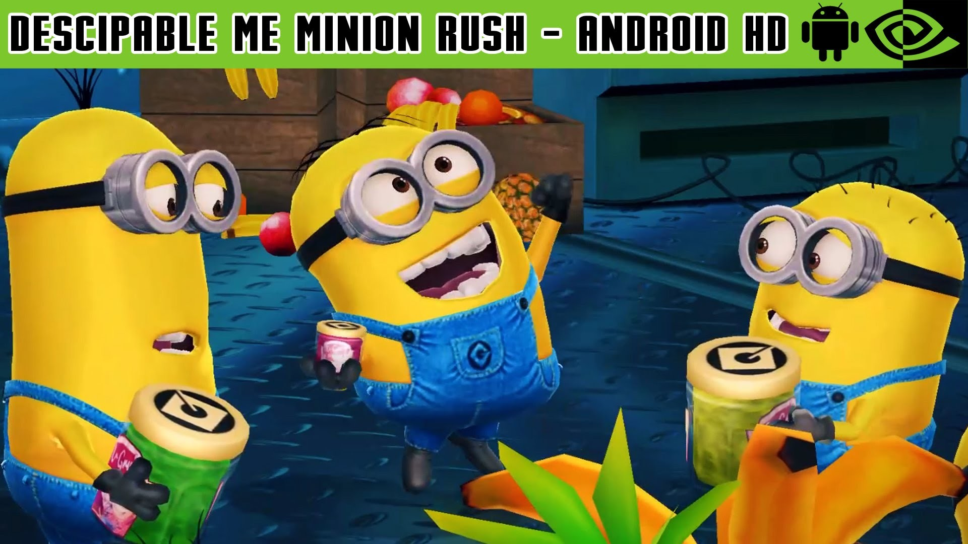 Descipable Me Minion Rush – Gameplay Nvidia Shield Tablet Android 1080p ( Android Games HD) – YouTube