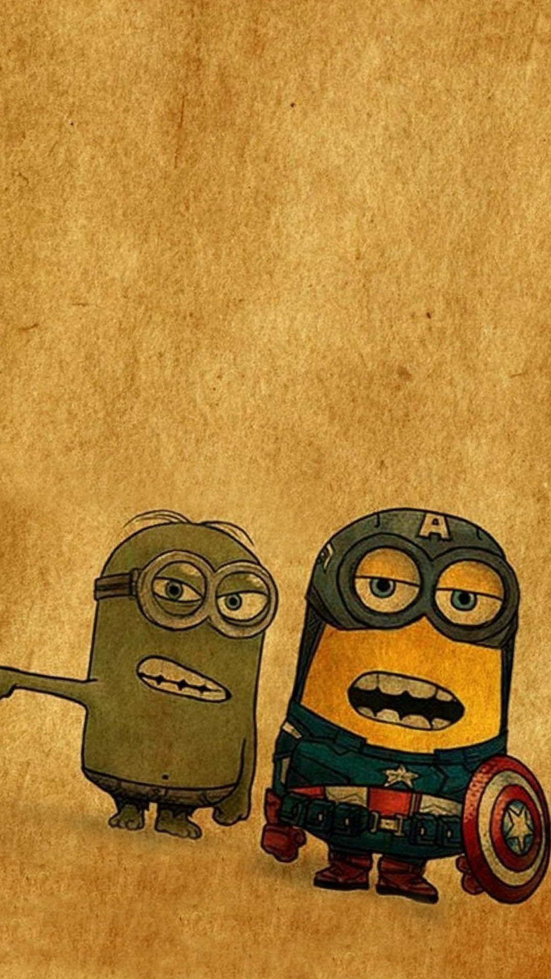 Download cool funny avenger minions 1080 x 1920 Wallpapers – 4566530 –  avengers minion funny | mobile9