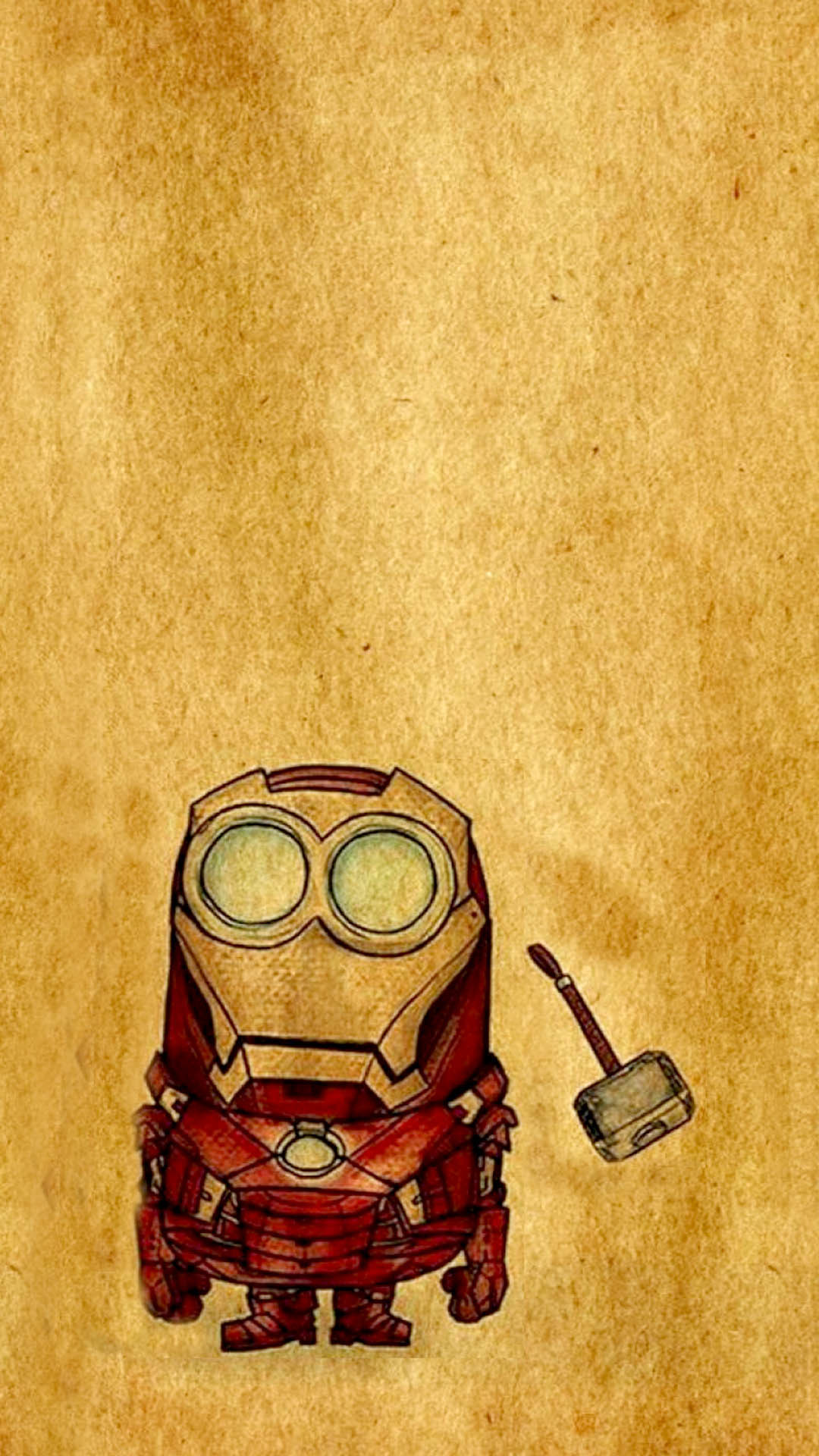 Red Avenger Minions