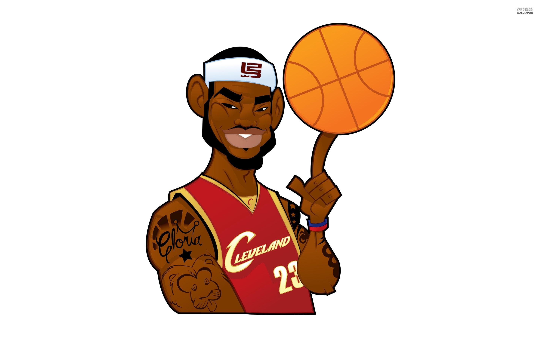 Cartoon Basketball Wallpaper
