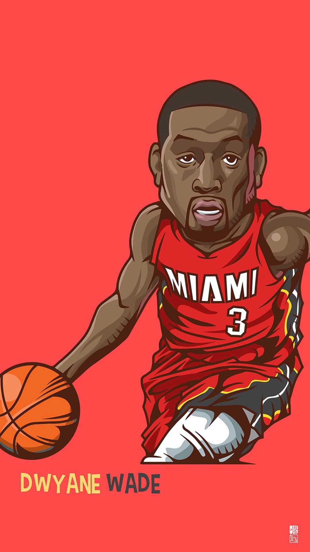 Download Dwyane Wade 1080 x 1920 Wallpapers – 4465696 – nba miamiheat  basketball wade | mobile9