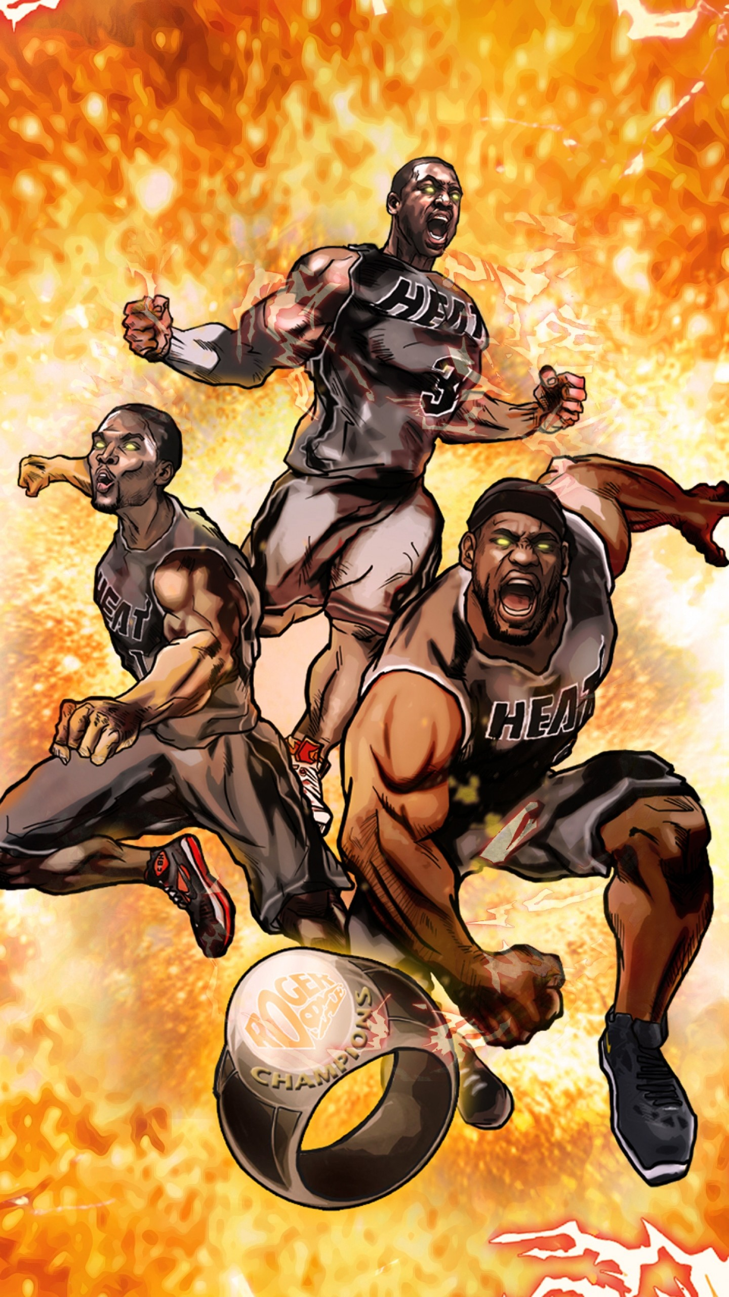 Wallpaper nba, miami, heat, miami heat, basketball, sports