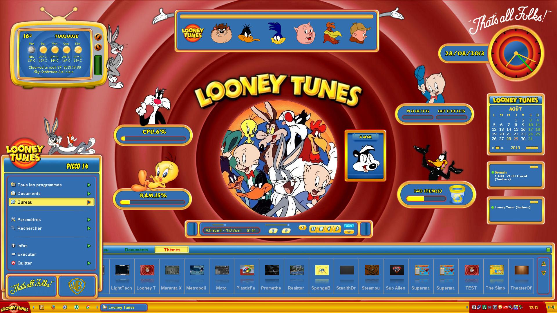 Looney Tunes 0 HTML code