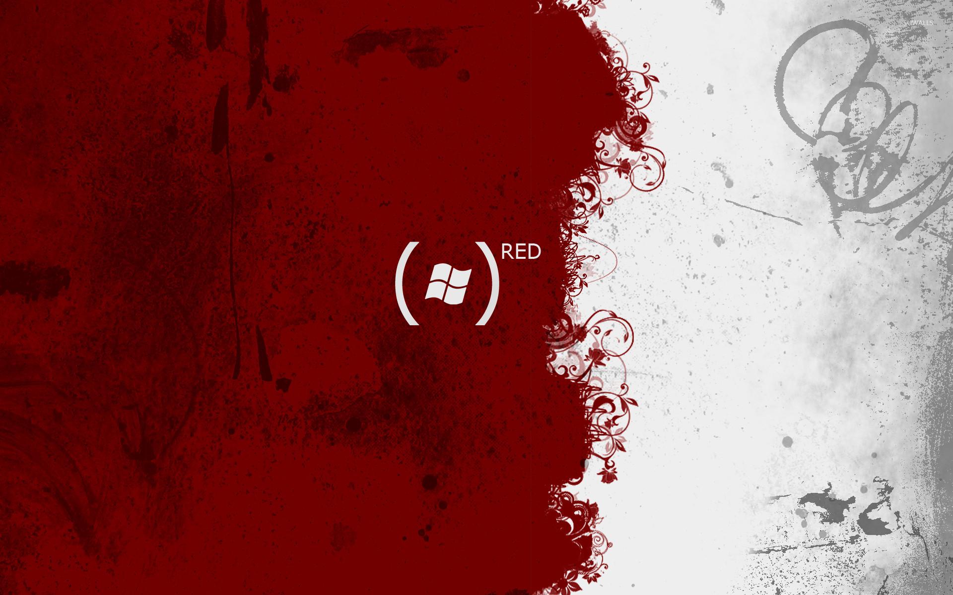 Windows Red Wallpaper