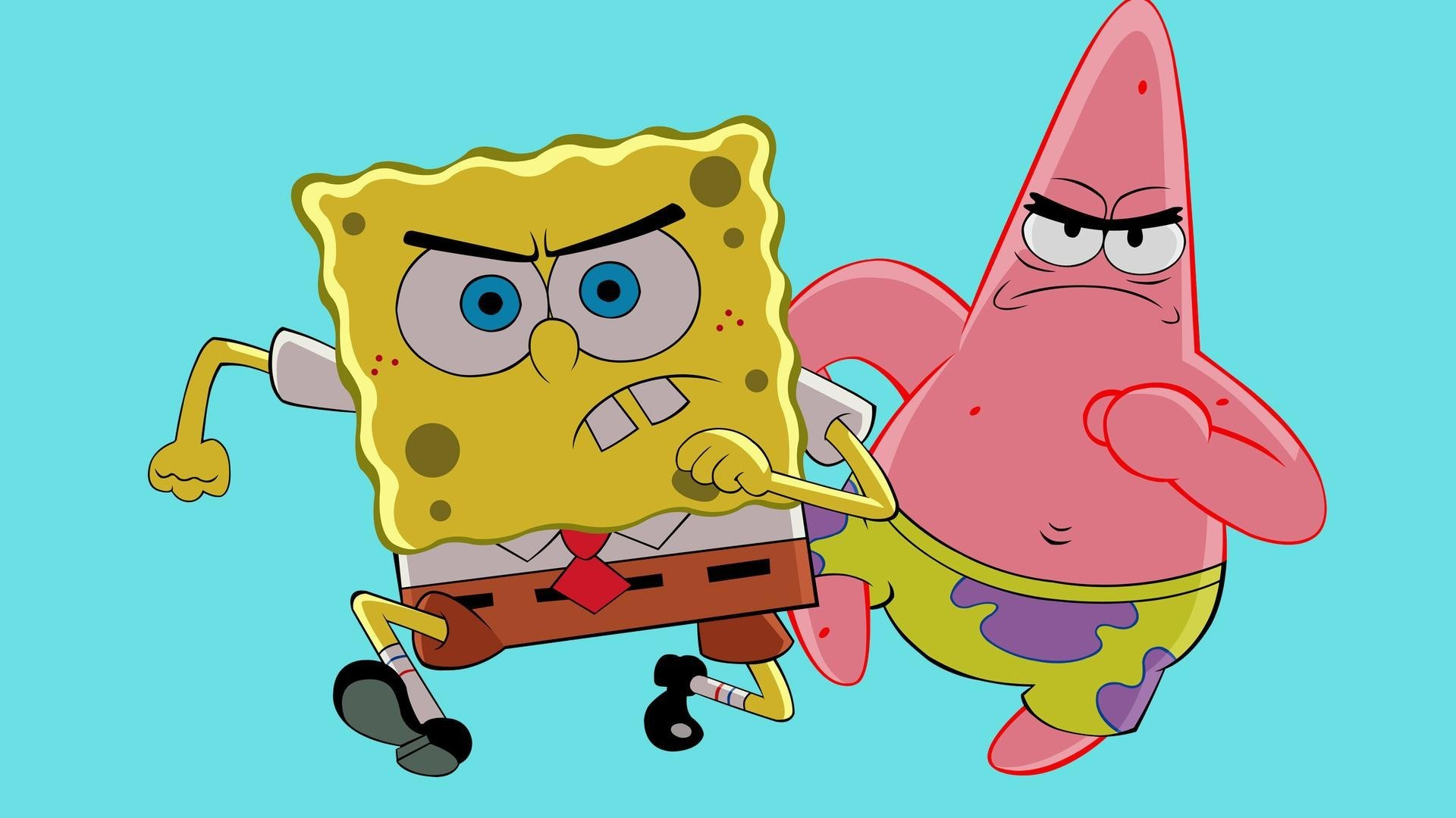 Spongebob and Patrick Star