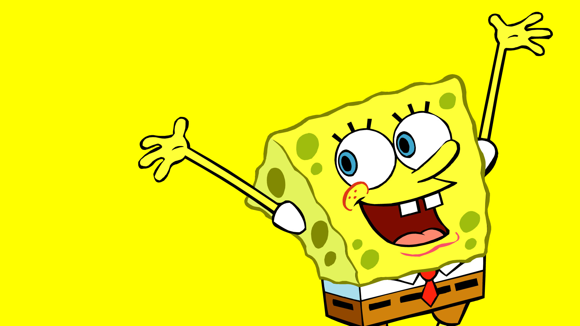 Spongebob Squarepants Happy Face Wallpaper