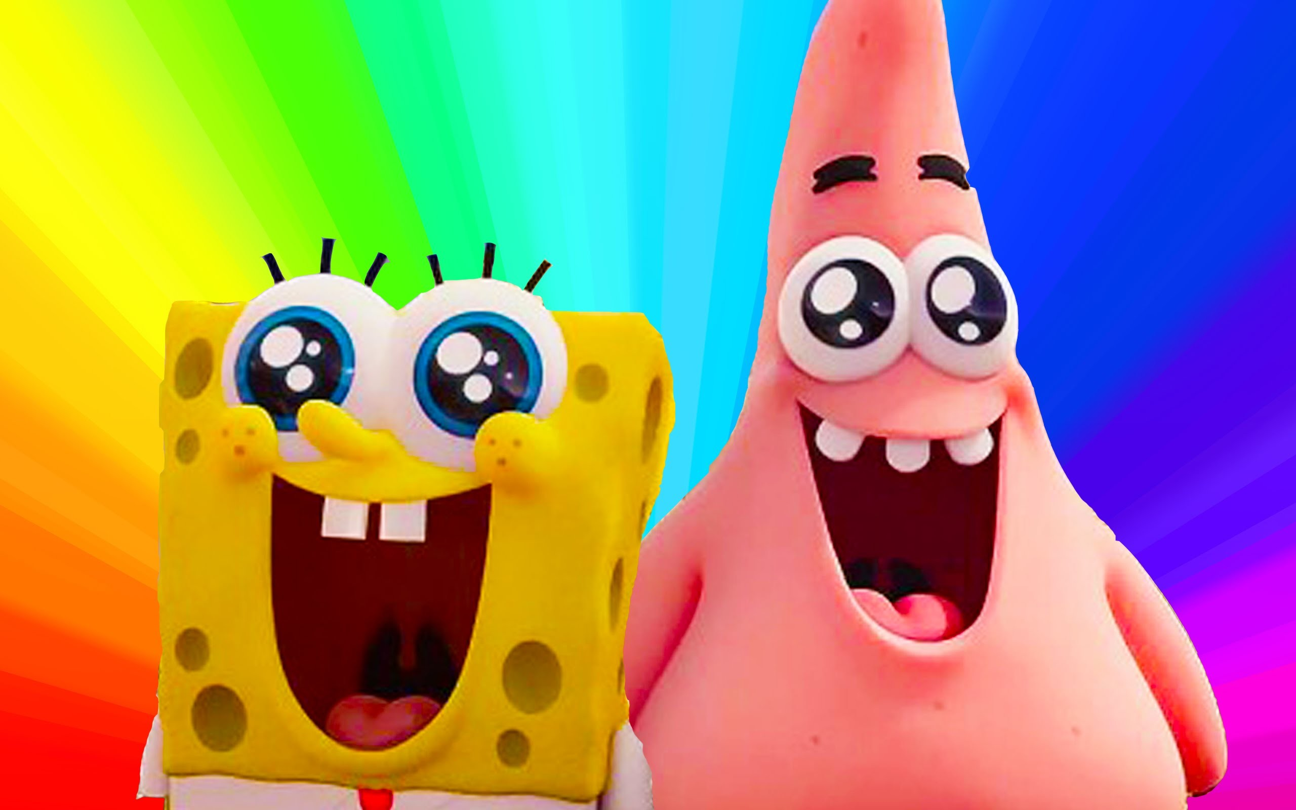 Meet Spongebob & Patrick Star, Easy Play doh creation for kids – YouTube