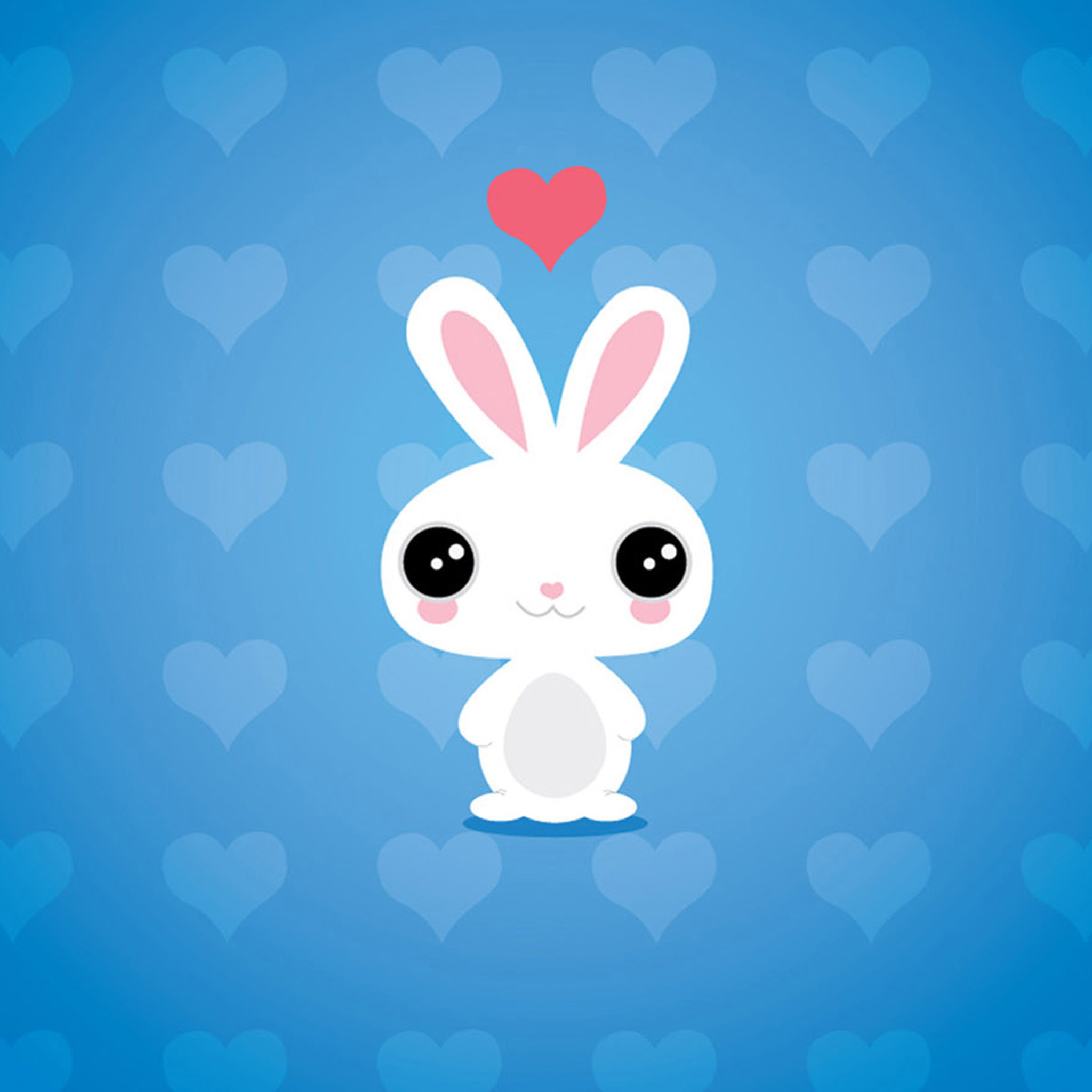 Cute Cartoon Rabbit IPad Air 2 Wallpapers