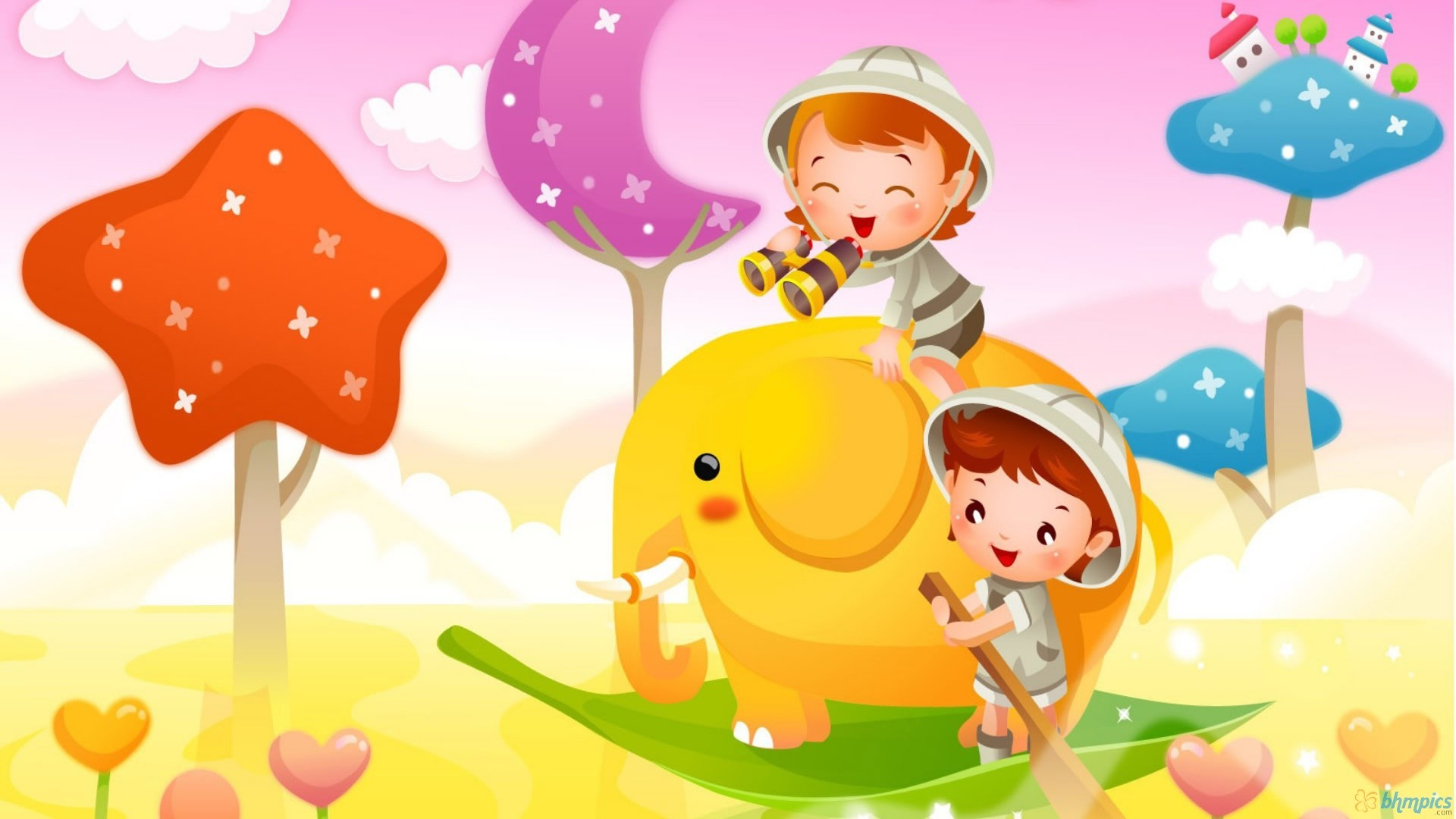 Cute Cartoon Wallpaper 25539 #7015195