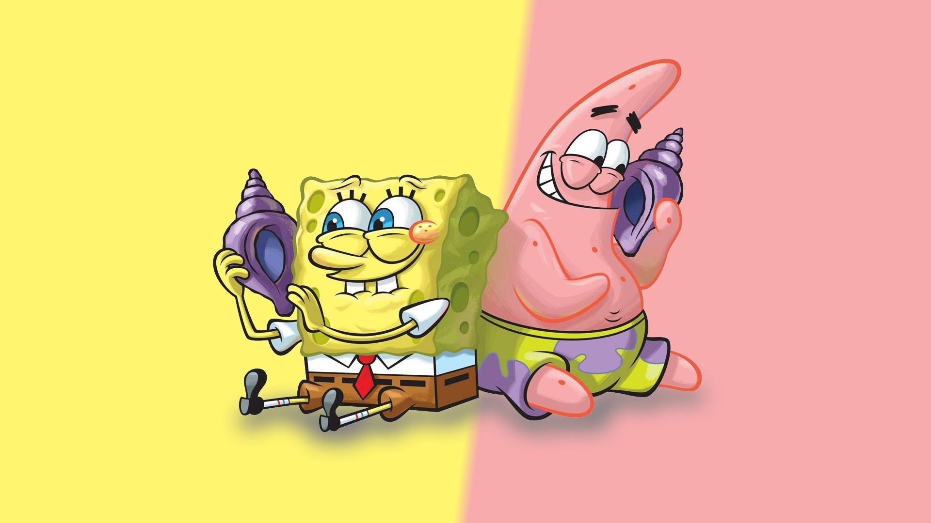 Spongebob and Patrick Desktop Wallpaper 58838