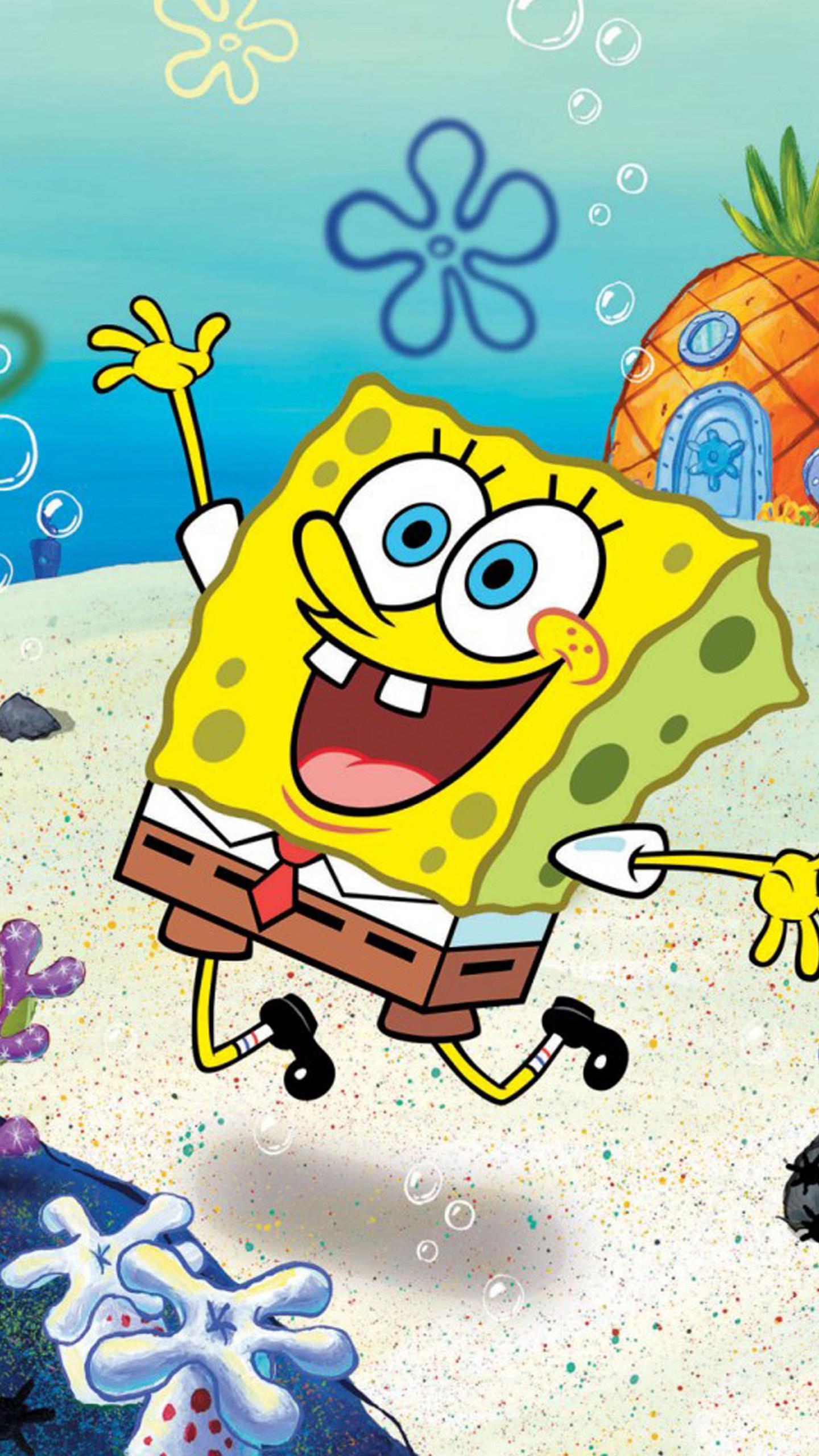 SpongeBob Wallpapers for Galaxy S6.jpg (1440×2560)