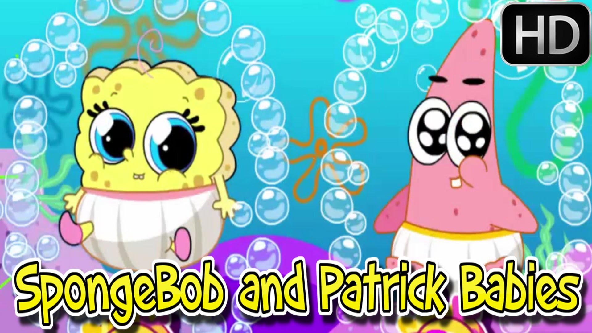 á´´á´° ♥♥♥ Spongebob games – Spongebob And Patrick Babies – Baby videos games  for kids – YouTube