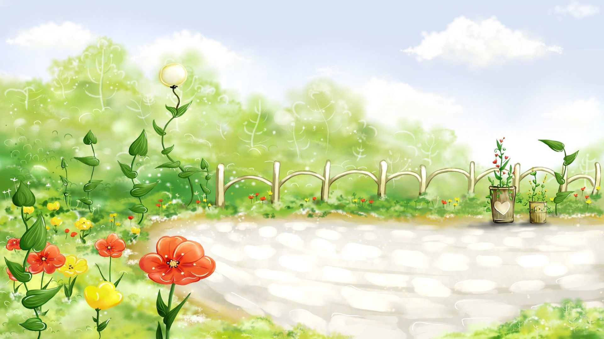 cartoon nature wallpaper – Cartoon Nature Landscape | Chinderland |  Pinterest | Nature wallpaper, Cartoon and Wallpaper