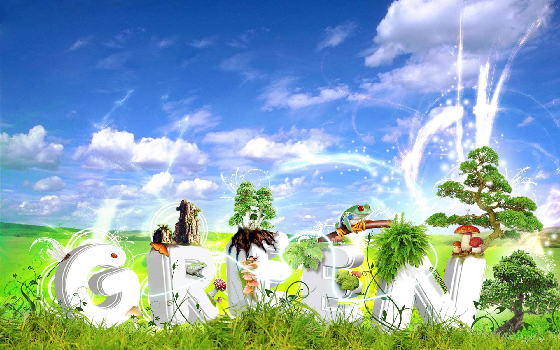 Creative Cartoon Spring High Definition Widescreen Lcd 460366 Wallpaper  wallpaper