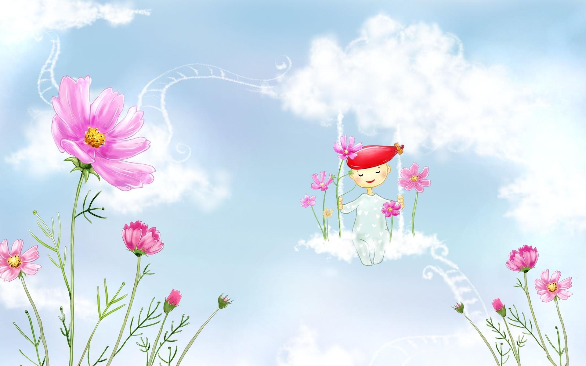 … spring ilration 518508 walldevil; strawberry shortcake wallpapers crazy  frankenstein; spring cartoon …