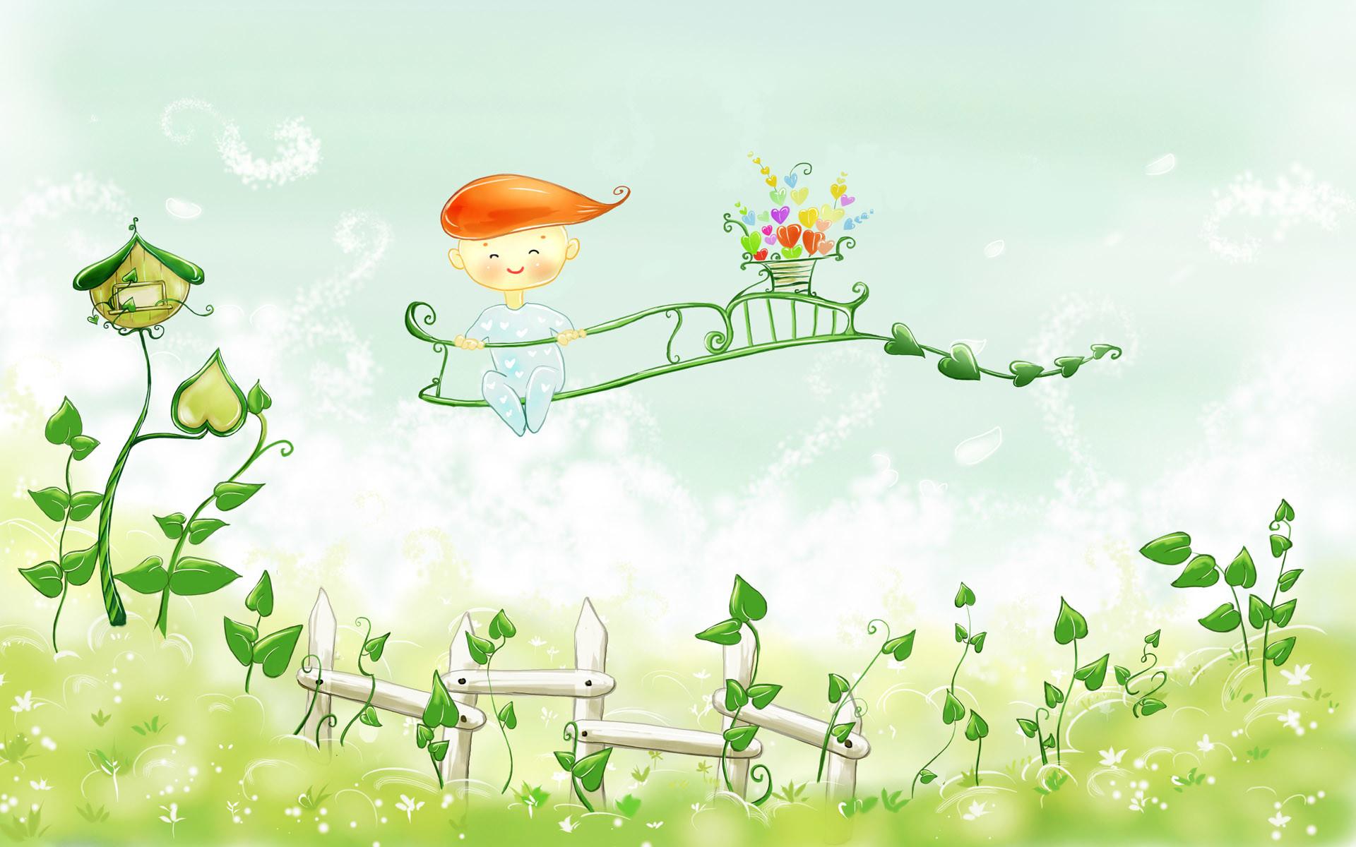 Free HD Image Of Fairy Tale Spring Beautiful Scenery