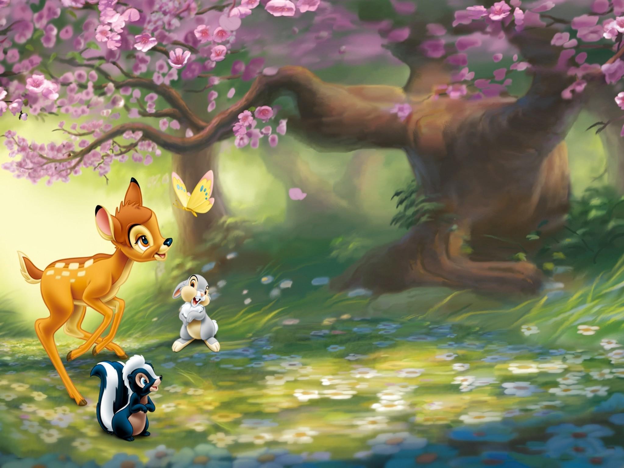 Bambi Spring Wallpaper | … URL: https://www.wallm