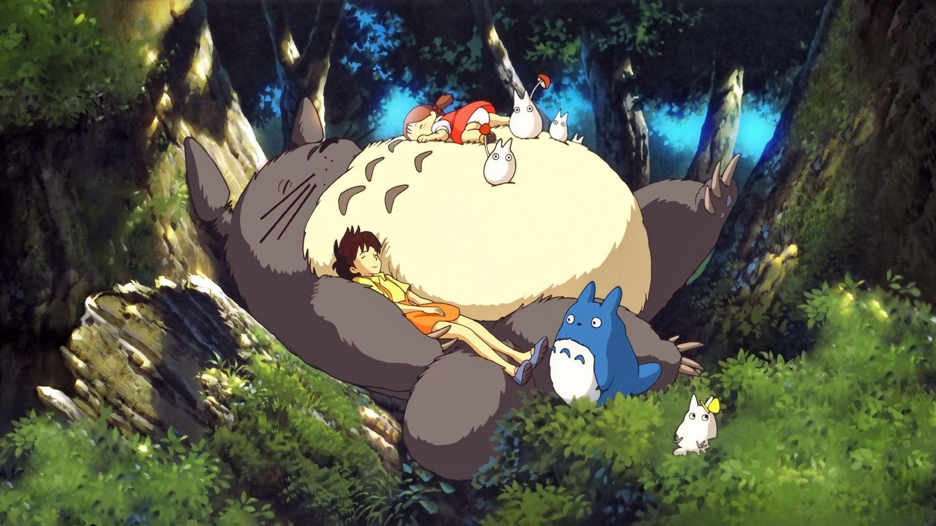 My Neighbor Totoro Wallpapers HD Download 1920×1080 Totoro Wallpaper (43  Wallpapers)  