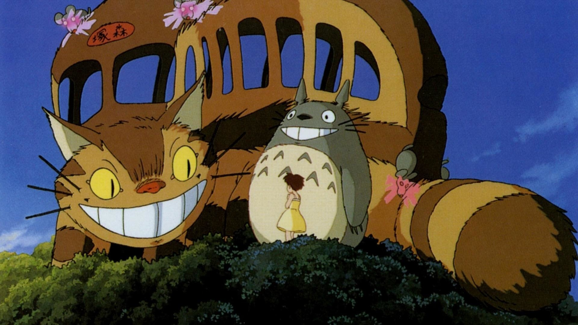 Anime download totoro wallpapers HD.