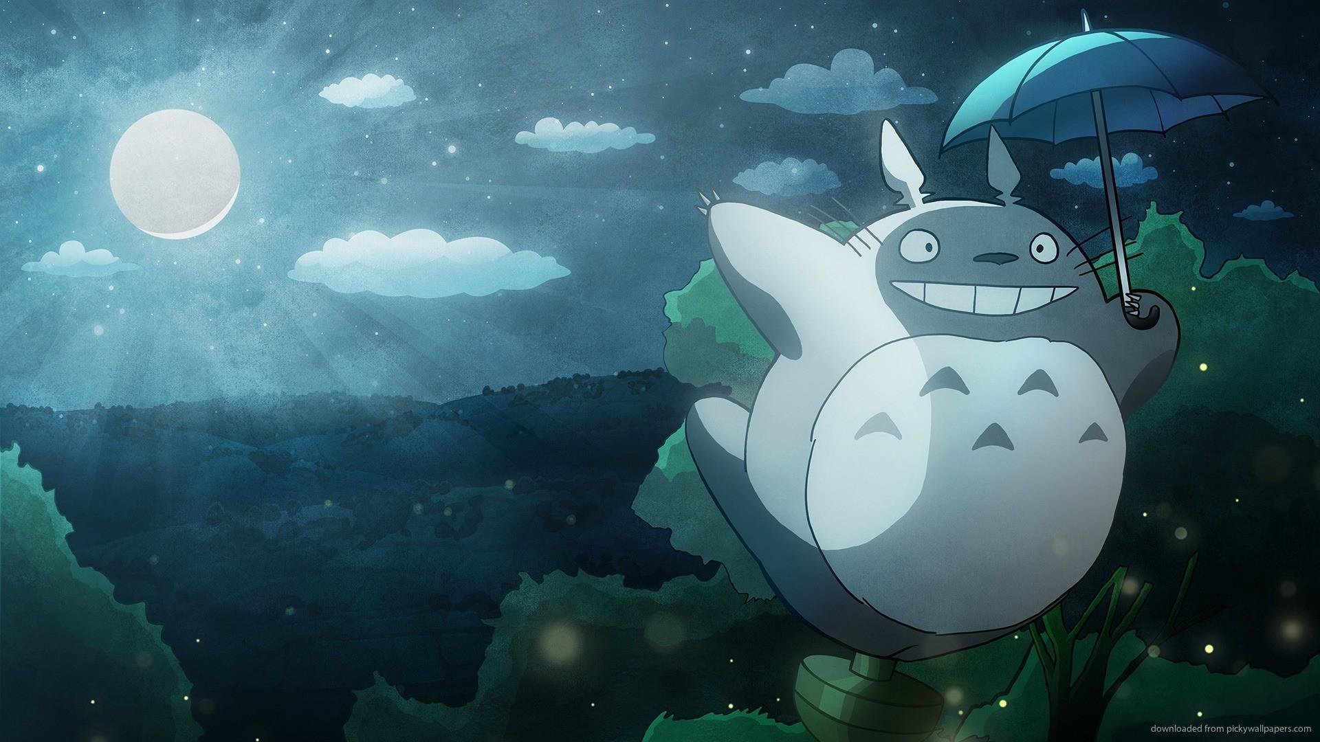 HD My Neighbor Totoro flight wallpaper